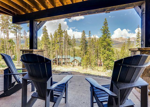 Lower patio views