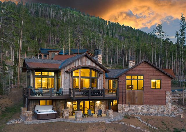 - Picturesque mountain views while you submerge yourself in graceful elegance.