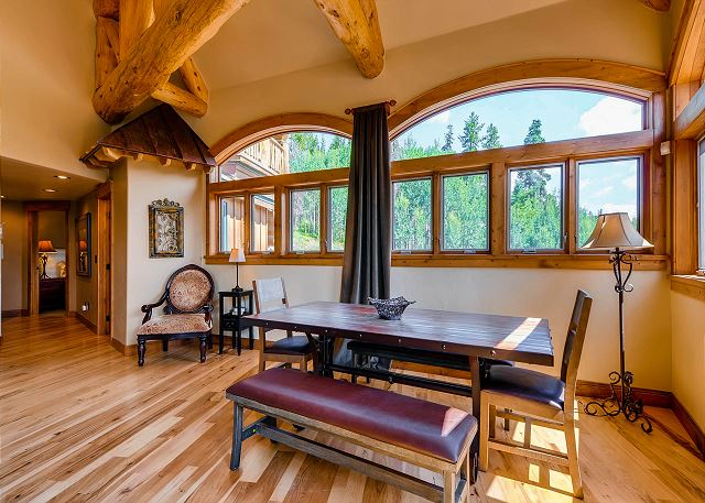 a great place to play a board game or a game of cards!