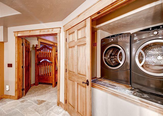 Laundry on Lower Level