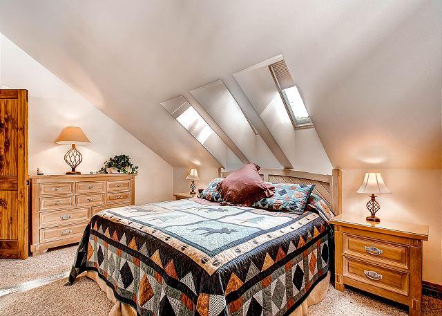 - sleeps 2 in one king bed, ensuite bath