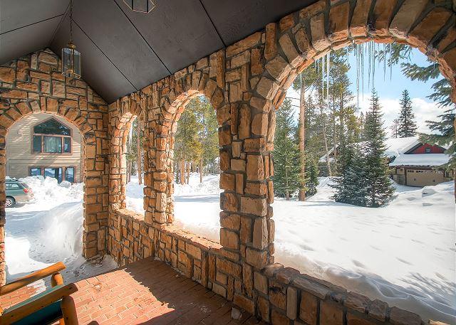 Bystone Villa Retreat View from Front Door