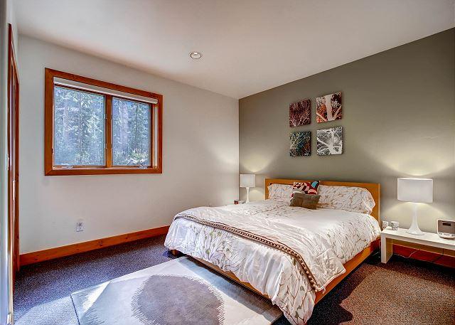 Essex King Bedroom - sleeps 2 in one king bed, exclusive hall bath