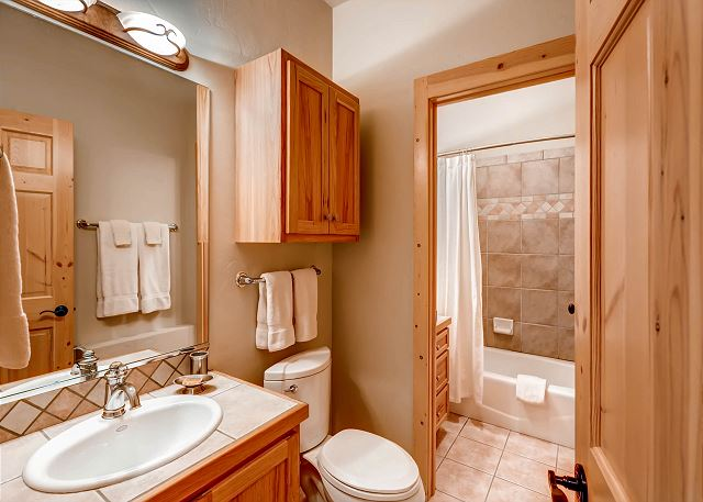Lower Level Hall Bath - Exclusive to Spruce Room
