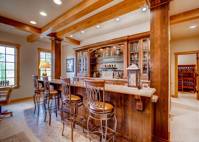Bar in Lower Level Rec Room