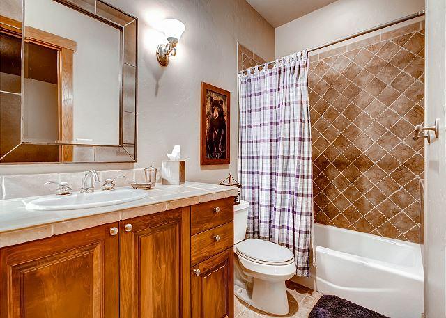 Enchanted Bunk Quarters Ensuite Bath