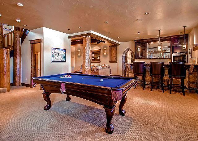 Billiards in Lower Level Rec Room