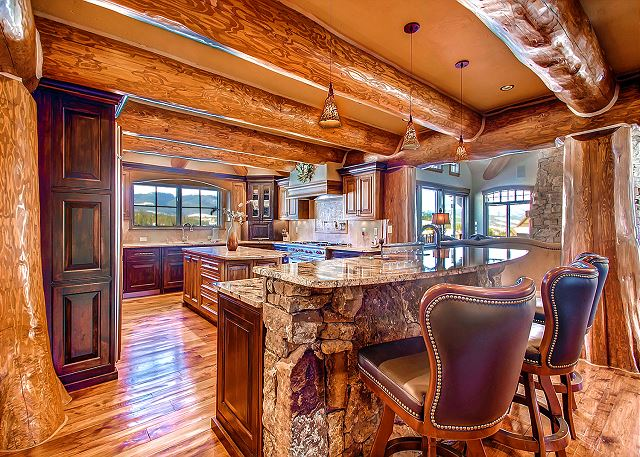 with Bar and All High End Appliances