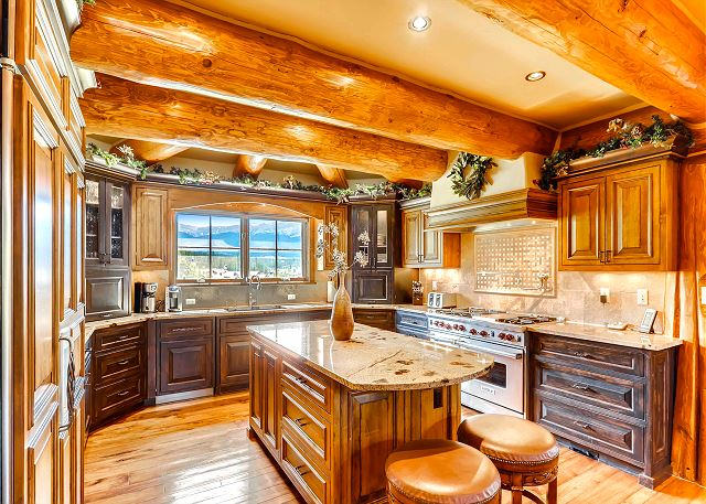 Beautiful and functional gourmet kitchen