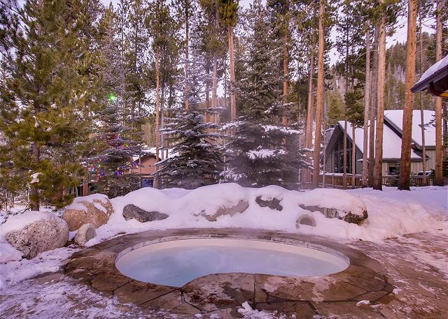 to your very own built in hot tub