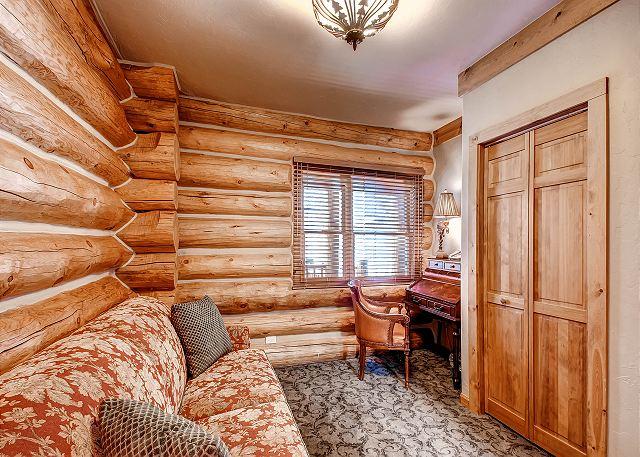 - sleeps two in queen sleeper sofa