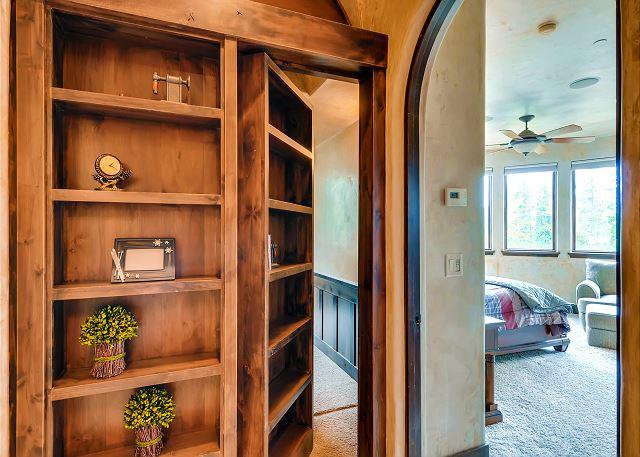 Entrance to the secret bunk room