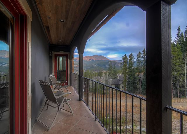 to enjoy some stunning views and privacy