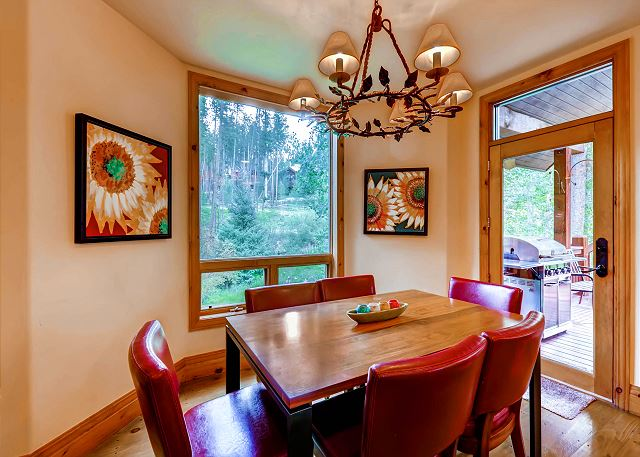 adjacent to Kitchen - also a great Kids Table for Dinners!