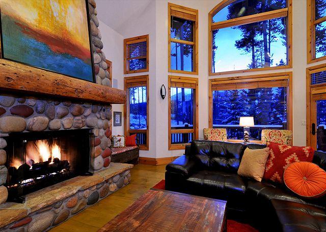 Fireside ambiance