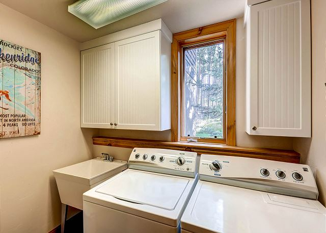 with wash sink