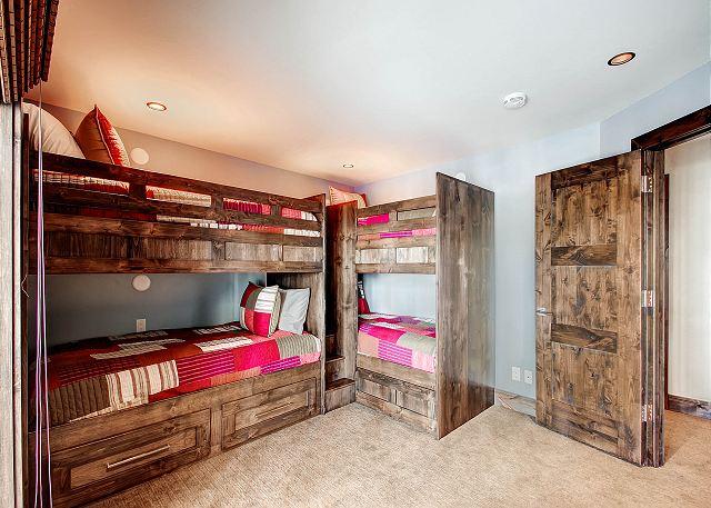 Starburst Dorm Bunk - sleeps 4 in two twin bunk beds (shares hall bath)