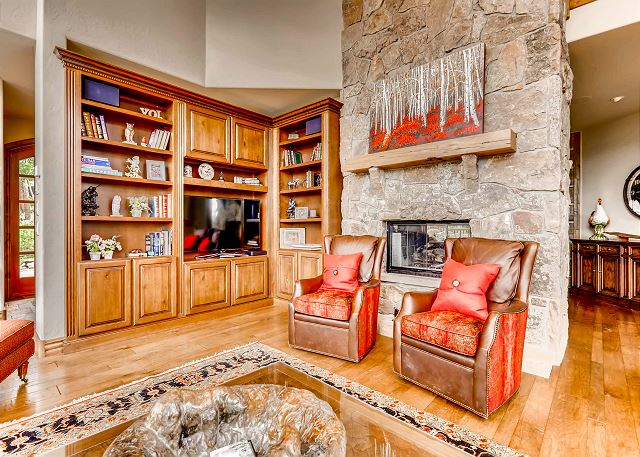 by fireside with a good book or just enjoy your favorite movie on the TV!