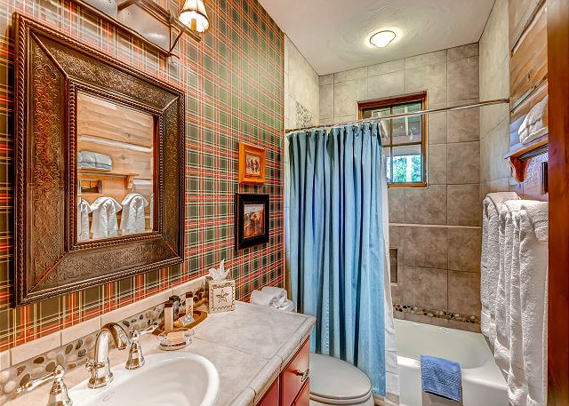 Lower Level Hall Bath Exclusive to Americana Bunk