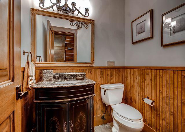 Powder Bath on Main Level
