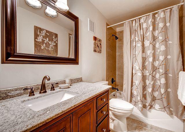 Lower Level Bunk Room Ensuite Bath