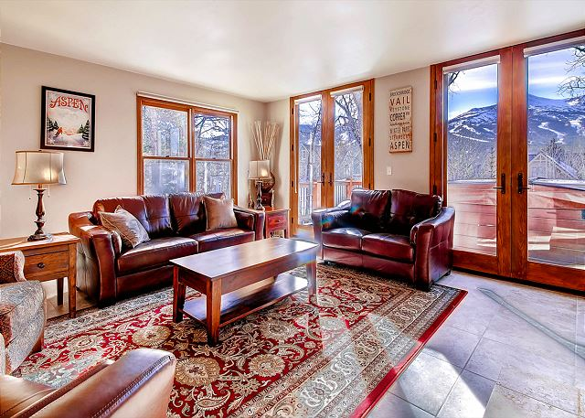 Enjoy Spectacular views from the Living Area