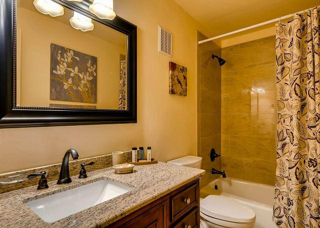 Lower Level Bunk Ensuite Bath