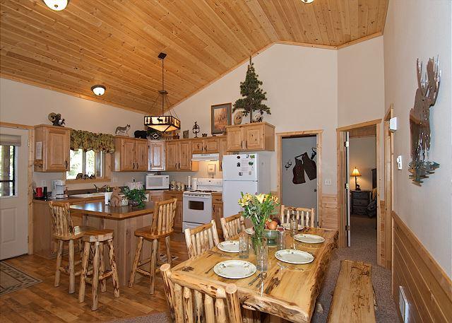 Lodge like atmosphere!