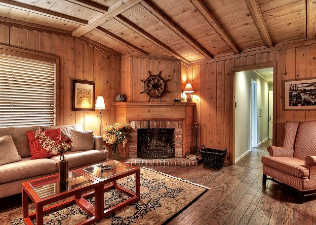 Inside of the cottage has been maintained in it's original Balbo