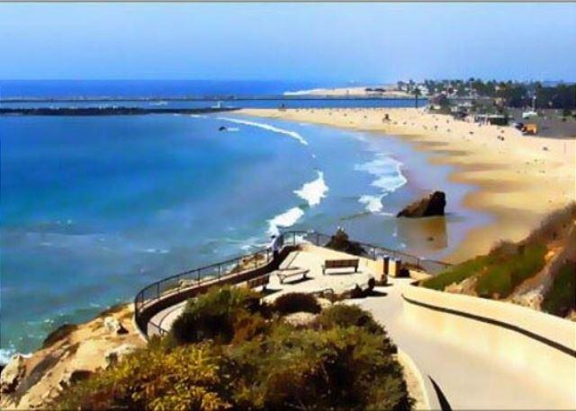 View of Corona Del Mar Beach