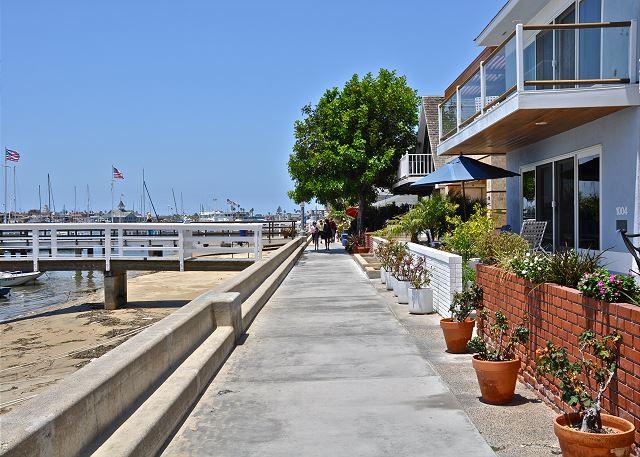 Balboa Island Boardwalk
