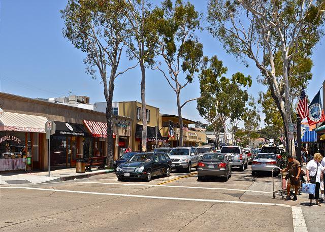 Main Street on Balboa Island