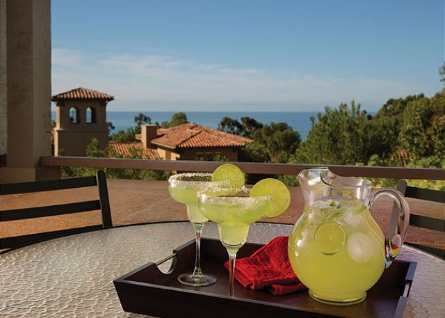 Kick back & relax on your private balcony
