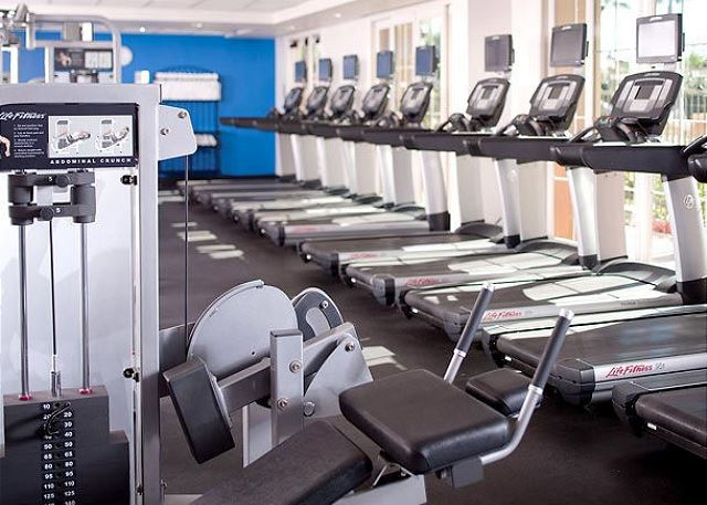 Work out at thy gym