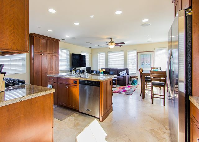 The property had a recent overhaul with all new furniture and de