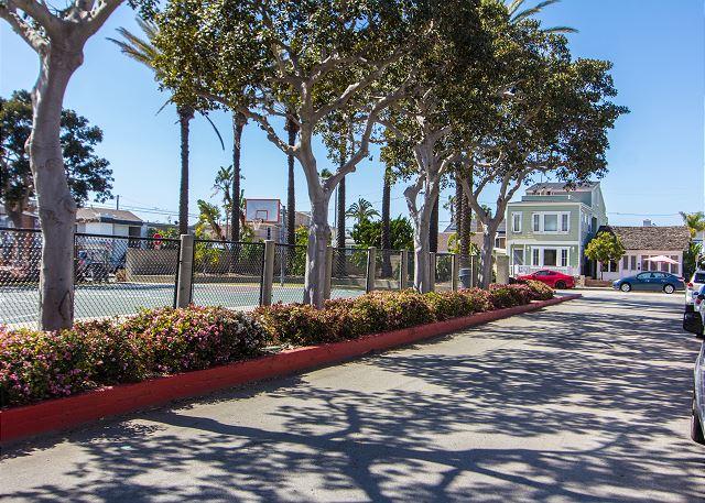 Neighborhood - walk to basketball courts