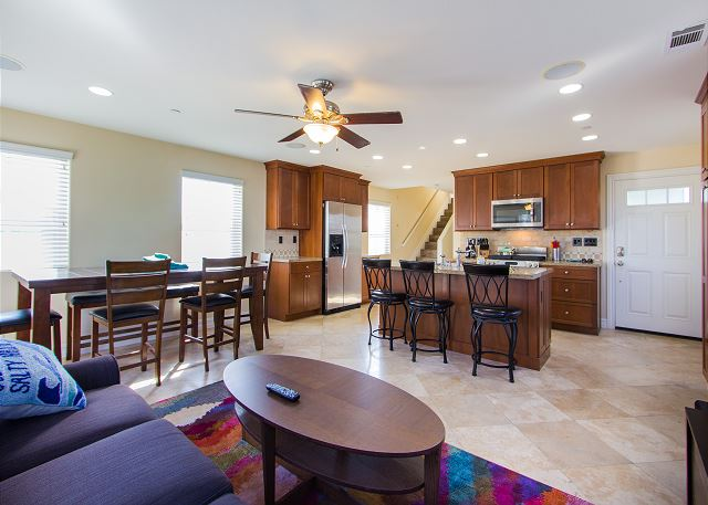 Living, Kitchen and Dining area
