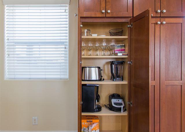Fully stocked pantry