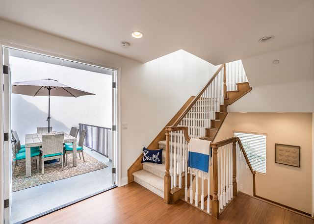 Stairway to Deck