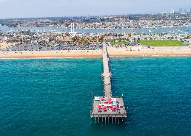Aerial View of Balboa Peninsula