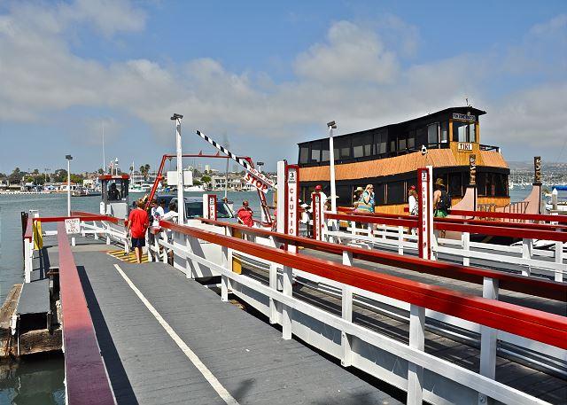 Take the ferry to Balboa Island