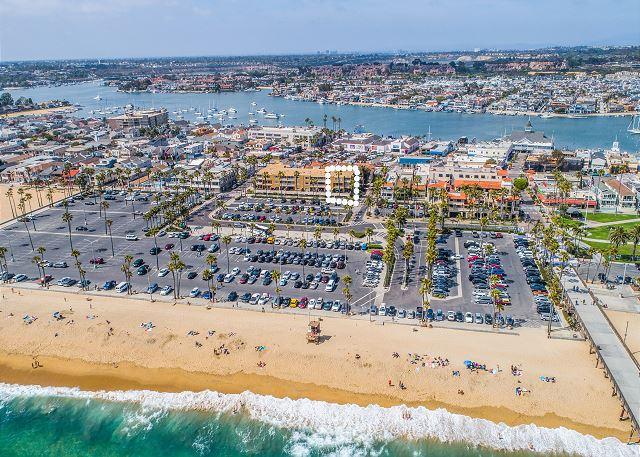 Location on Balboa Peninsula