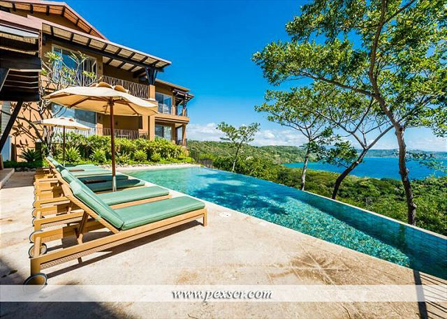 From The Infinity Pool Or Ample Cozy Spots For Lounging Either In Sun Shade Costa Rica Resorts Rentals Vacation