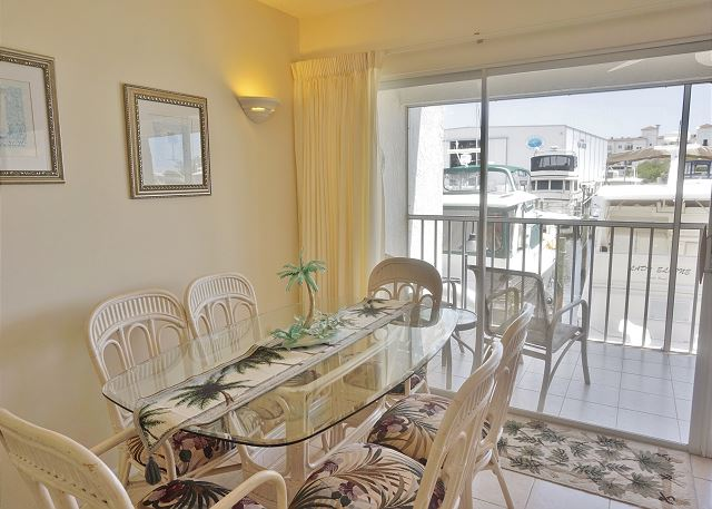 This Lovely Little condo has a great view of the Waterway! A1113MB