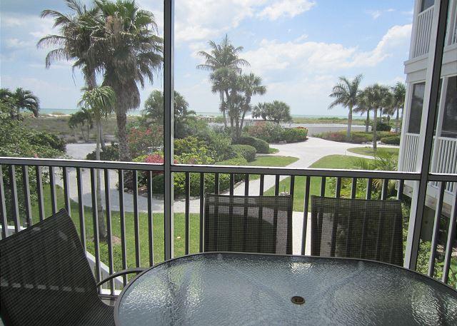 Unobstructed View of the Gulf with Beachside steps on beach resort.   A3311A