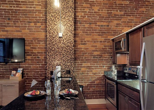 Perfect Size Kitchen for this Loft
