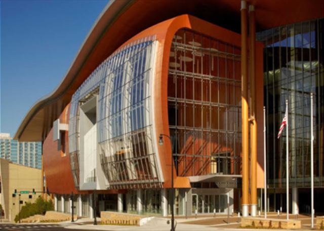 Nashville's newly built Beautiful Convention Center
