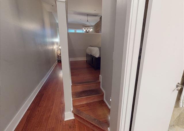 Just a few steps to the Queen Bedroom