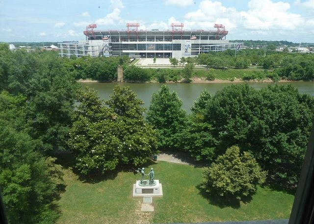 Beautiful view of the home of the Tennessee Tiatans Nissan Staduim