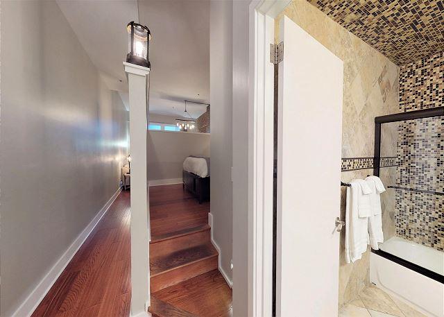 Beautiful Tile in Bathroom